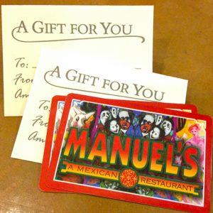 Manuel's Gift Card image